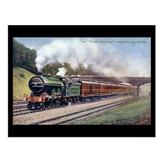 Old Railway Postcard - Flying Scotsman