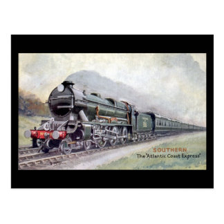 Old Railway Postcard - SR, Atlantic Coast Express