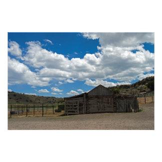 Old Ranch Art Photo