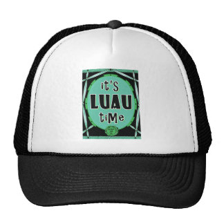 Old Rattan Luau Green Trucker Hat