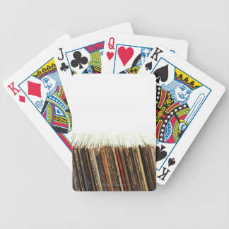 Old Records Bicycle Playing Cards