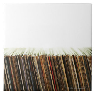 Old Records Tile