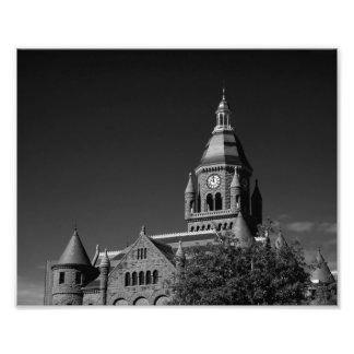 Old Red Courthouse, Dallas Texas Art Photo