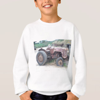 Old red tractor sweatshirt