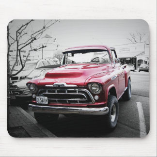 Old Red Truck Mouse Pad