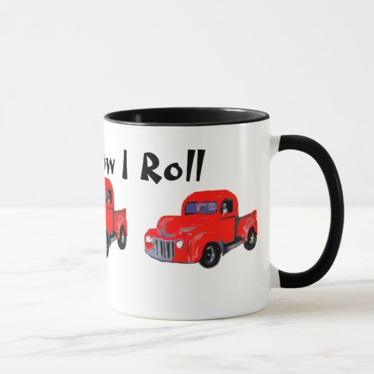 Old Red Truck  This is How I Roll Mug