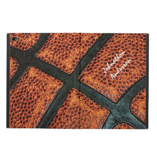 Old Retro Basketball Pattern With Name