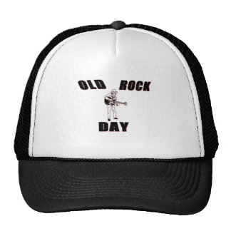 Old Rock Day Trucker Hats