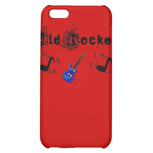 Old Rocker Guitar Notes Iphone 4 Speck Case iPhone 5C Covers