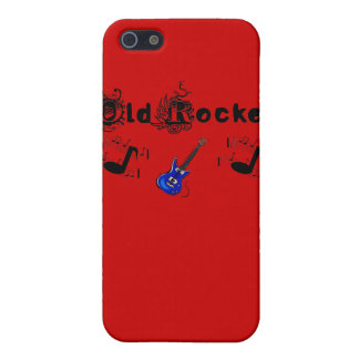 Old Rocker Guitar Notes Iphone 4 Speck Case iPhone 5 Covers
