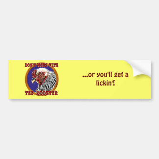 Old Rooster Bumper Sticker