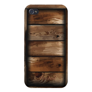 Old Ruin Wreck Wooden Box iPhone 4 Case For iPhone 4