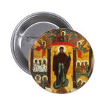 Old Russian icon The Intercession