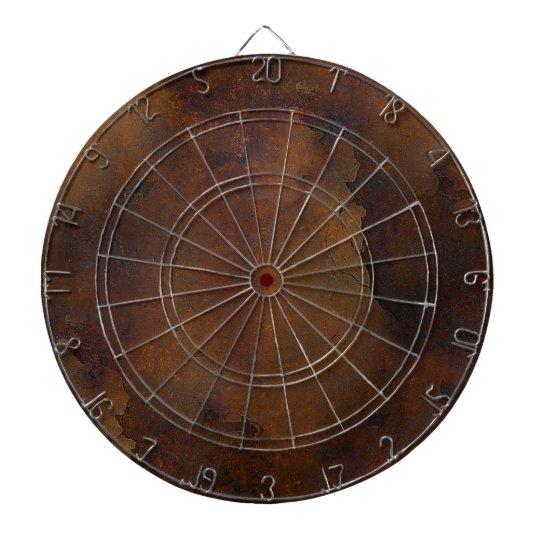 Old Rusted Look Dart Board
