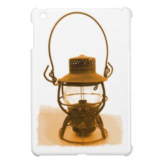 Old Rusted Railroad Lantern iPad Mini Cover