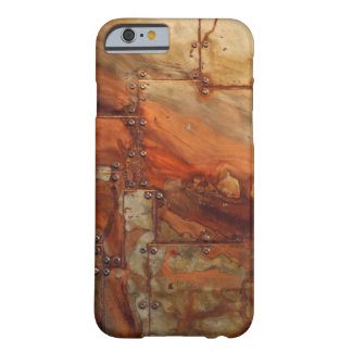 Old Rusty Metal Barely There iPhone 6 Case