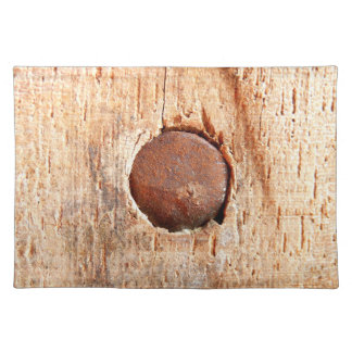 Old Rusty Nail Placemat