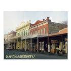 Old Sacrmento District Travel Postcard