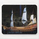 Old sailboat mousepad
