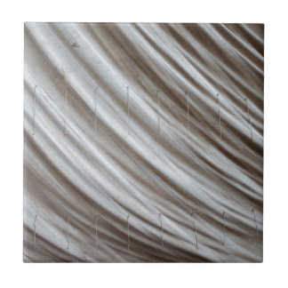 Old Sailcloth Background Small Square Tile