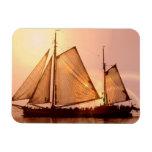 Old Sailing Ships Magnet Magnet