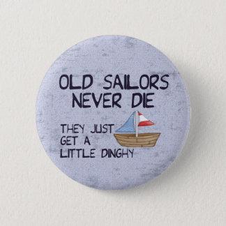 Old Sailors 6 Cm Round Badge