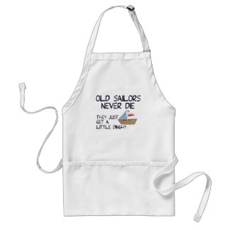 Old Sailors Adult Apron