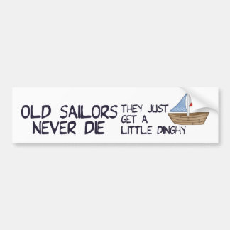 Old Sailors Bumper Sticker