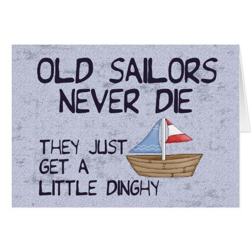 Old Sailors Card