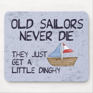 Old Sailors Mouse Pad