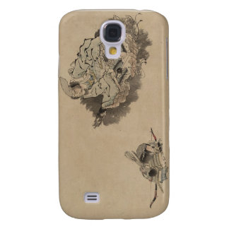 Old Samurai teaching Child Samurai circa 1800s Galaxy S4 Case