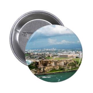 Old San Juan 6 Cm Round Badge