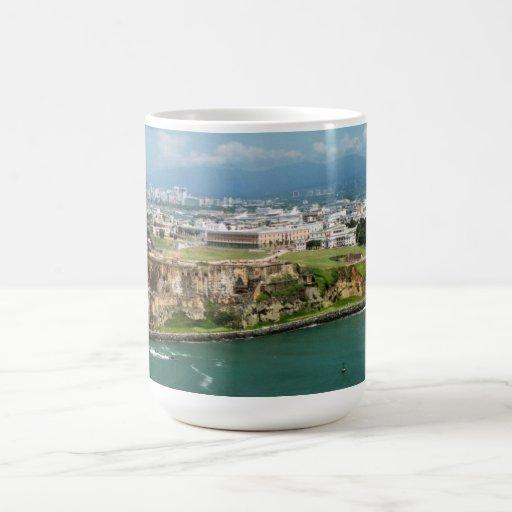 Old San Juan Basic White Mug