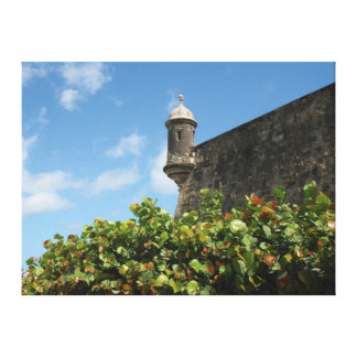 Old San Juan, Puerto Rico View Stretched Canvas Prints