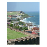 Old San Juan Shore Post Cards