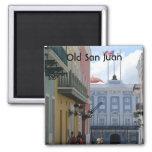 Old San Juan Square Magnet