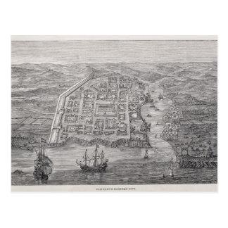 Old Santo Domingo City Postcard
