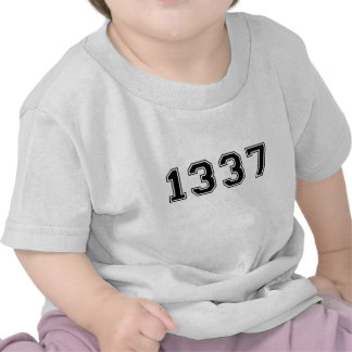 Old-School 1337 T-shirts