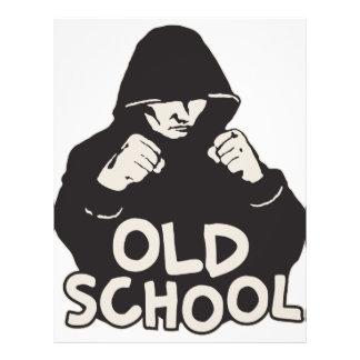 Old School 21.5 Cm X 28 Cm Flyer