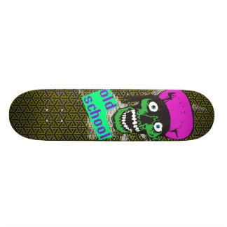 old school badass skateboard