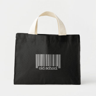 Old School Barcode Tote Bags