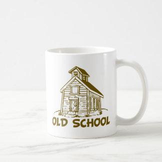 Old School Basic White Mug