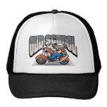 Old School Biker Trucker Hat