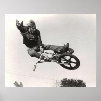Old school BMX print