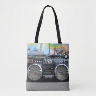 Old School Boom Box Radio Bag