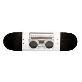 Old School Boombox Radio Skateboard Deck