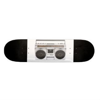 Old School Boombox Radio Skateboard Deck