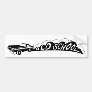 Old School Camaro - Bumper Sticker