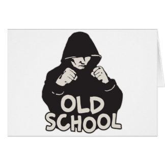 Old School Card
