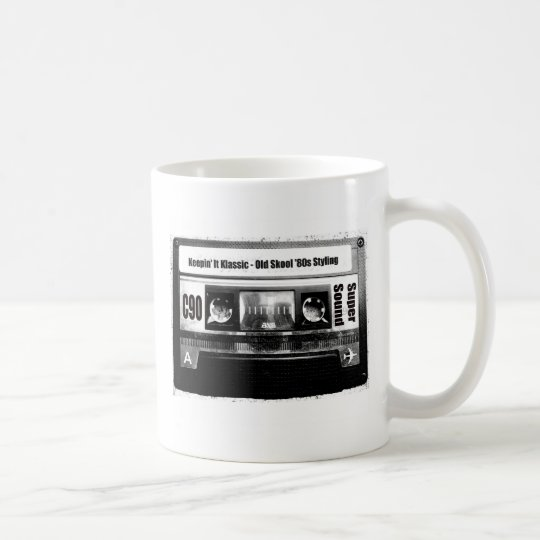 Old School Cassette Coffee Mug